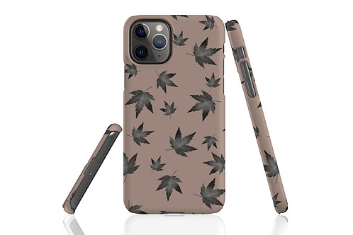 Taupe Night Acer iPhone Case