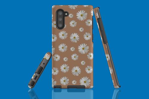 Daisies on Beige Samsung Galaxy Case