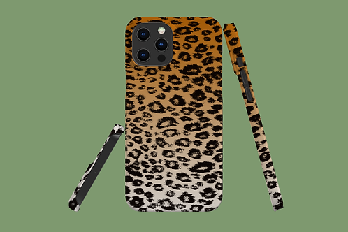Big Cat Fade iPhone Case