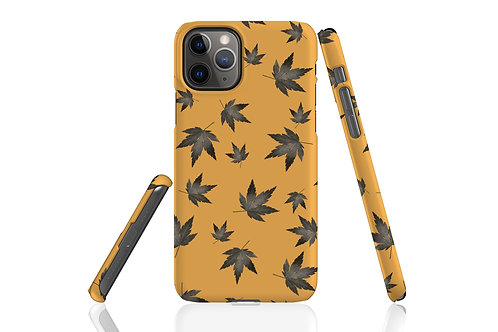 Sunshine Yellow Night Acer iPhone Case