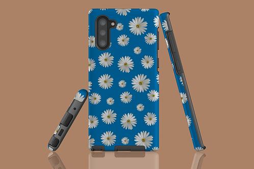Daisies on Blue Samsung Galaxy Case