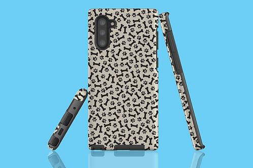 Dog Paw and Bone Samsung Galaxy Case