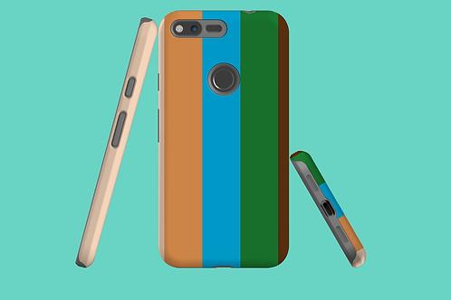 Five Colours Google Pixel Case