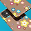 Thumbnail: Colourful Flowers on Brown iPhone Case