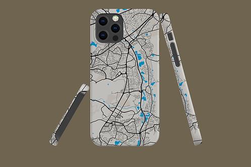 Street Map iPhone Case