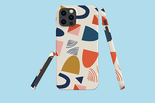 Abstract Arcs iPhone Case