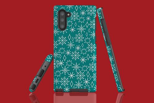 Christmas Snowflakes Samsung Galaxy Case