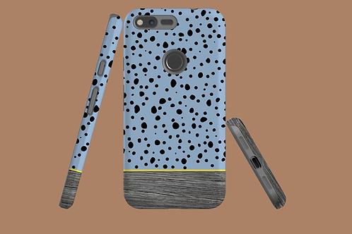 Driftwood Spotty Blue Google Pixel Case