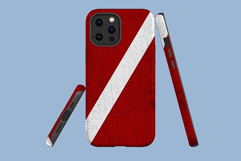 Dive Flag iPhone Case