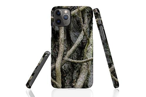 Tree Bark Vines iPhone Case