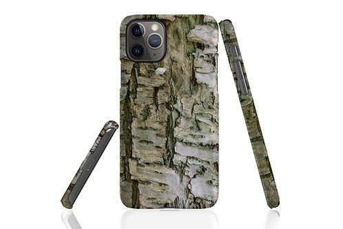 Light Tree Bark iPhone Case