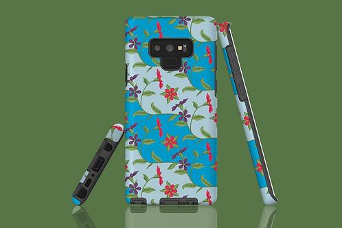 Floral Wave Samsung Galaxy Case