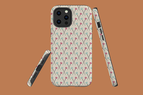 Sewing Pins iPhone Case