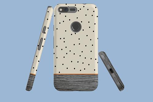 Driftwood Tiny Squares Google Pixel Case