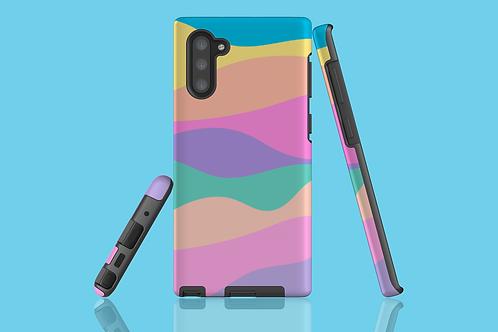 Pastel Rainbow Mountains Samsung Galaxy Case