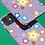 Thumbnail: Colourful Flowers on Purple iPhone Case