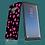 Thumbnail: Flower Power Pink on Black Samsung Galaxy Case