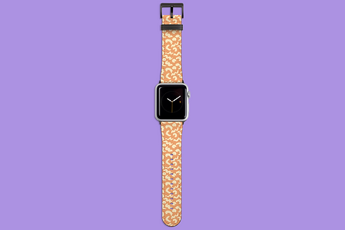 Coffee and Cream Apple Watch Strap