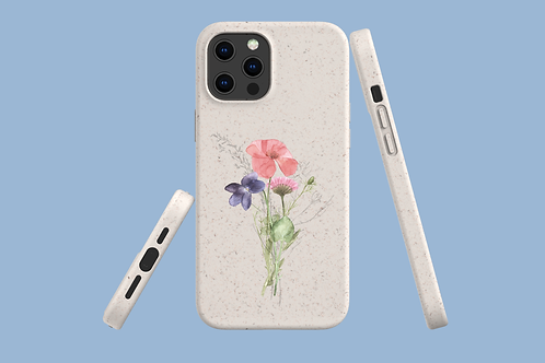 Poppy, Violet, and Daisy iPhone Bio-Case | Environmentally Friendly iPhone
