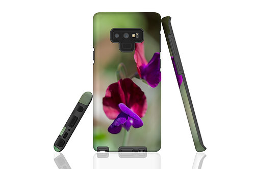 Purple Sweetpea Samsung Galaxy Case