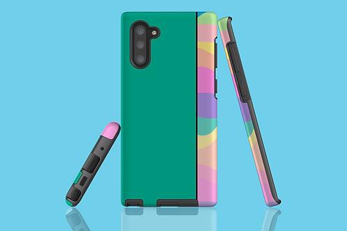Pastel Rainbow Green Samsung Galaxy Case