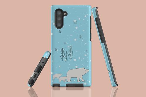 Polar Bear Family Samsung Galaxy Case