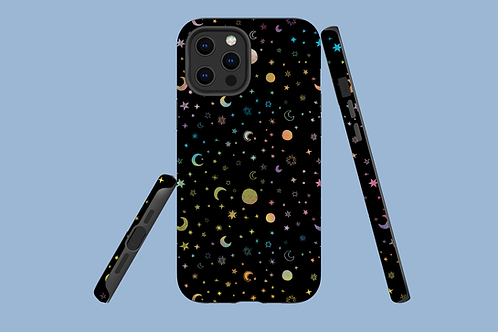 Moons and Stars iPhone Case
