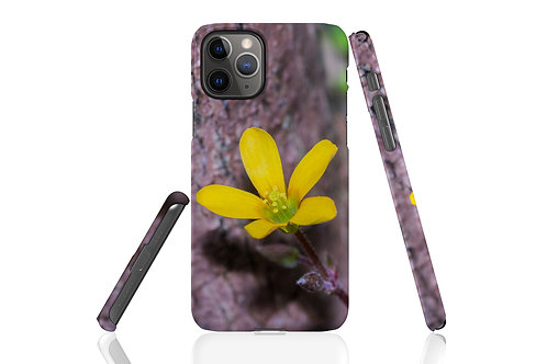 Yellow Clover iPhone Case