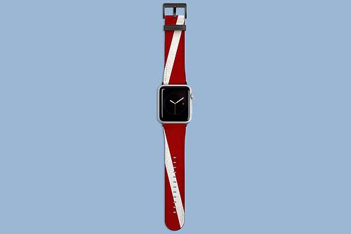 Dive Flag Apple Watch Strap