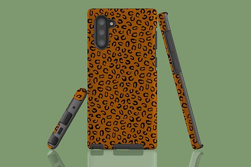 Leopard Print Tan Samsung Galaxy Case