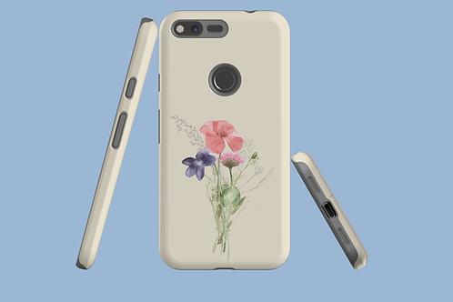Poppy, Violet, and Daisy Google Pixel Case