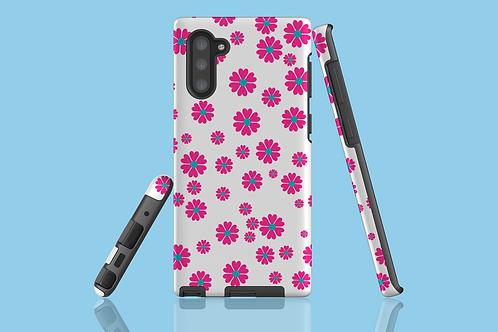 Flower Power on White Samsung Galaxy Case