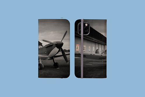 Spitfire and Retro Posters iPhone Folio Wallet Case