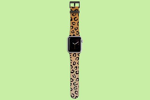 Leopard Print Apple Watch Strap