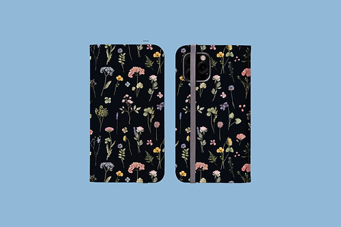 Dark Meadow iPhone Folio Wallet Case