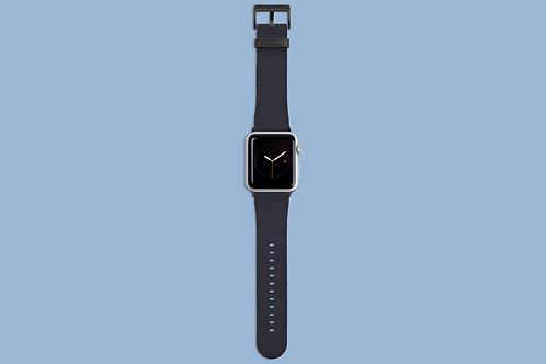 Polar Night Solid Colour Apple Watch Strap
