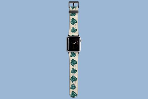 Botanical Leaf Apple Watch Strap
