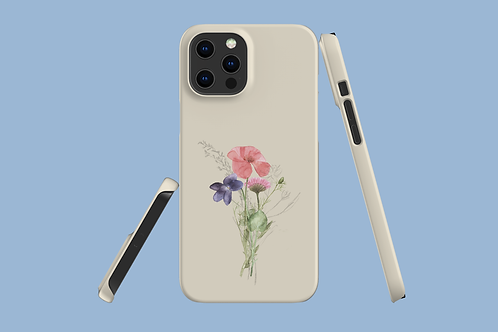 Poppy, Violet, and Daisy iPhone Case