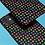Thumbnail: Rainbow Stars on Black iPhone Case