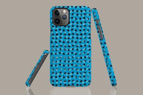 Blue Stars iPhone Case