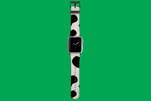 Cow Print Apple Watch Strap
