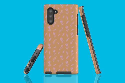 Pink Flower Pattern Samsung Galaxy Case