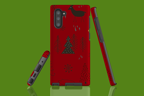 Christmas Critters Samsung Galaxy Case