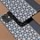 Thumbnail: Floral Geometric Grey Panel iPhone Case