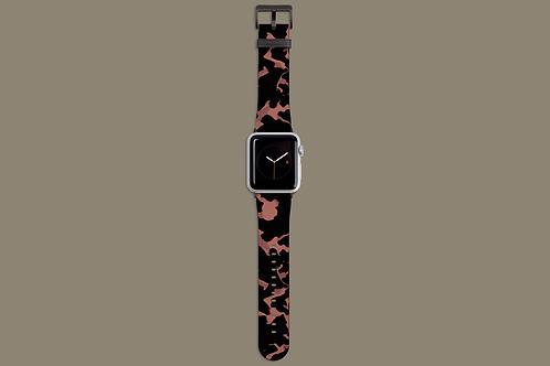 Mock Tortoise Apple Watch Strap