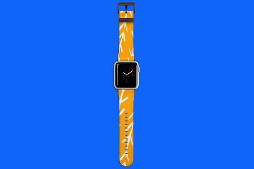 Warm Sunshine Arrows Apple Watch Strap