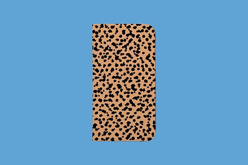 Big Cat iPhone Folio Wallet Case