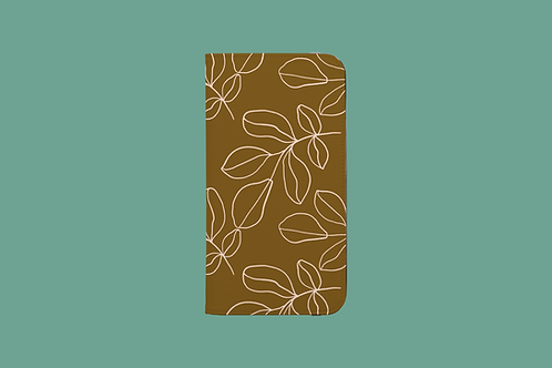Olive Branch iPhone Folio Wallet Case