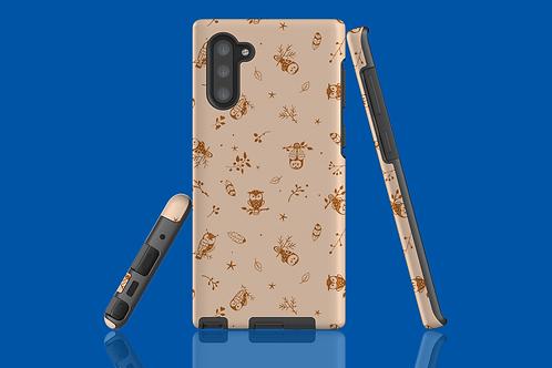 Brown Owl Samsung Galaxy Case