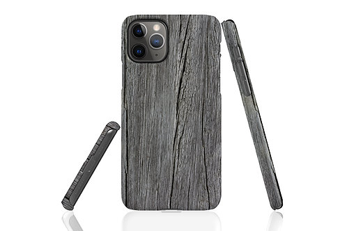 Grey Wood iPhone Case